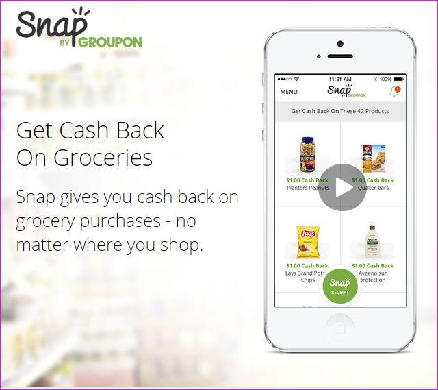 Groupon Snap App isdiva.com