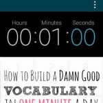 How to Build a Damn Good Vocabulary in One Minute a Day