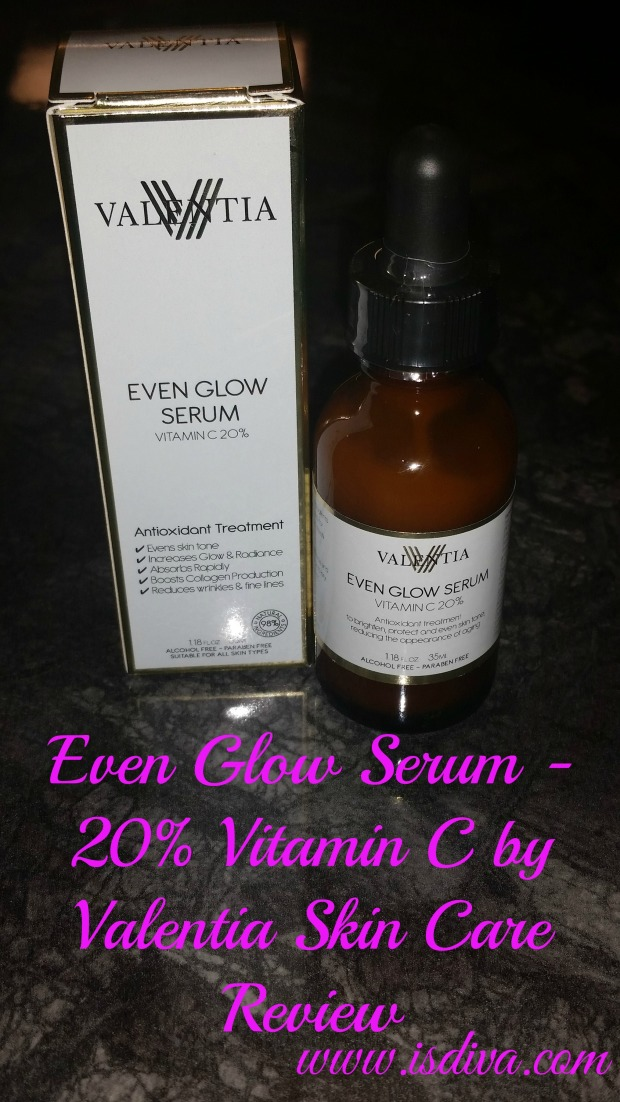 Even Glow Serum Review