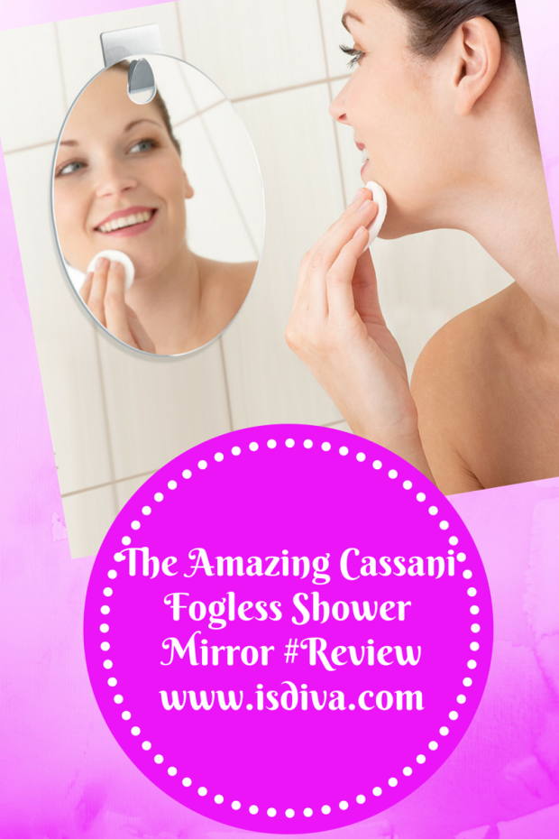 The Amazing #Cassani Fogless Shower Mirror #Review