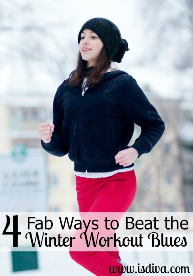 4 Fab Ways to Beat the Winter Workout Blues
