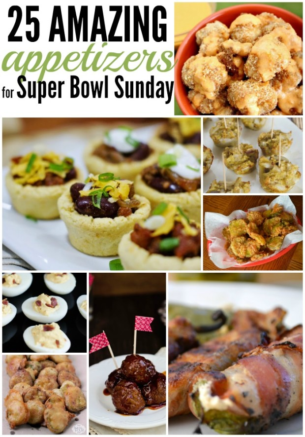 25 Amazing Appetizers for Your Super Bowl Party