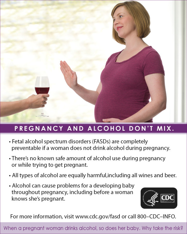 dont drink pregnant