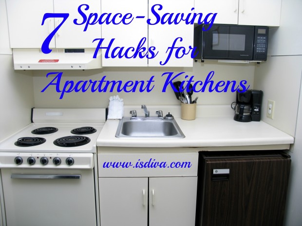 7 space saving hacks for apartment kitchens independent. Black Bedroom Furniture Sets. Home Design Ideas