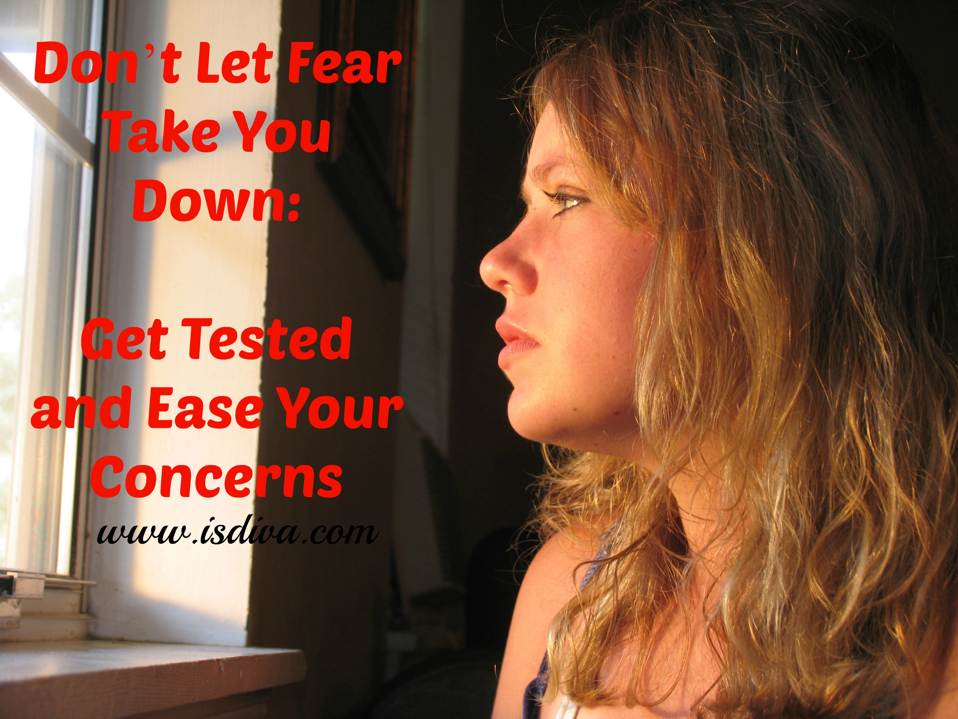 Dont Let Fear Take You Down