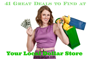 Going to the dollar store is not cheap, it's living frugal. There are so many great dollar store deals out there. You just need to have a guideline of what to buy and what to stay away from. Check out these 41 dollar store deals.