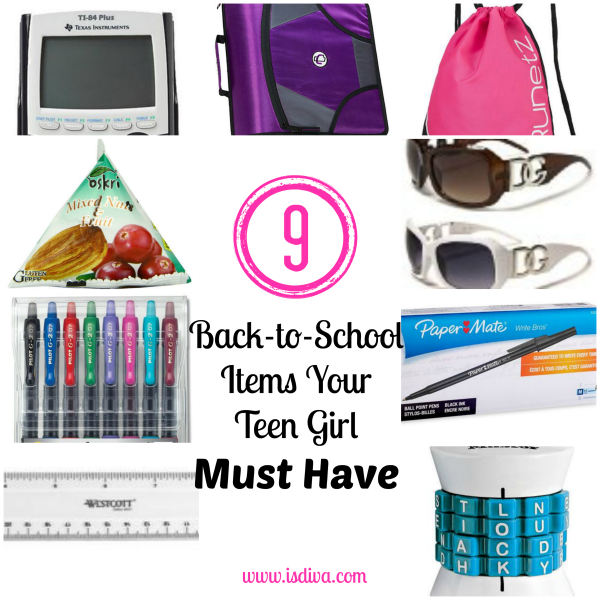 Ensure your teen girl has all the back to school essentials she needs.