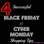 4 Successful Black Friday and Cyber Monday Shopping Tips #sponsored