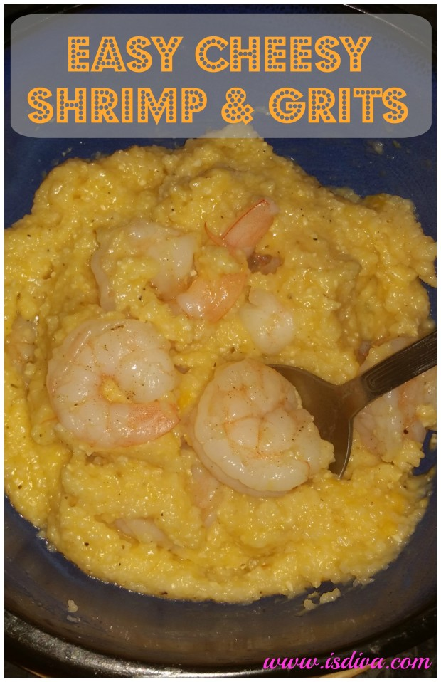 Easy Cheesy Shrimp and Grits. For an easy, warm anytime meal, try this Cheesy Shrimp and Grits recipe.