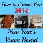 How to Create Your 2016 New Year's Vision Board