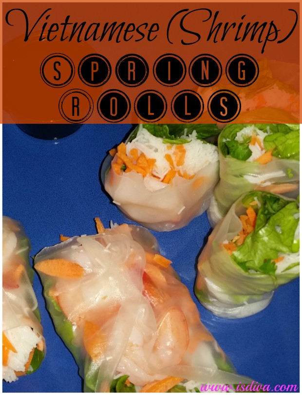 If you want a fresh, vegetarian recipe, try out these shrimp spring rolls. They are easy to make and great snacks for you and the kids.