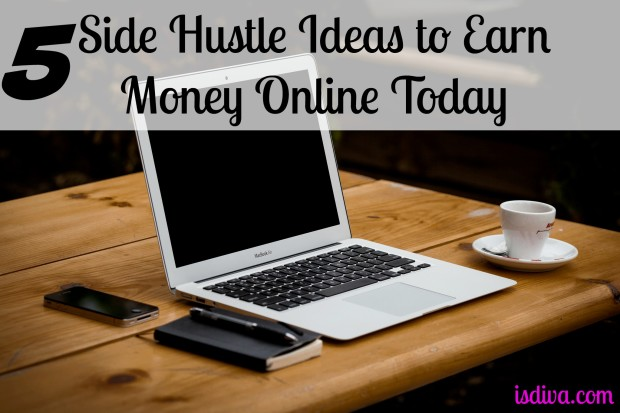 Do you need another stream of income or low on cash and need money today? I have listed five side hustle ideas to help you start earning cash today at home.