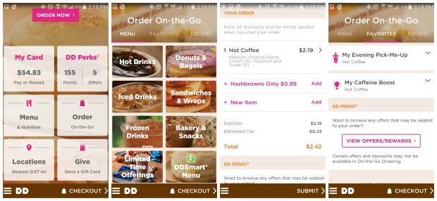 Dunkin Donuts has a new Dunkin Donuts Application that saves you money and time. Download this application today to find the closest Dunkin Donuts to you and take advantages of perks such as Dunkin Donuts coupons.