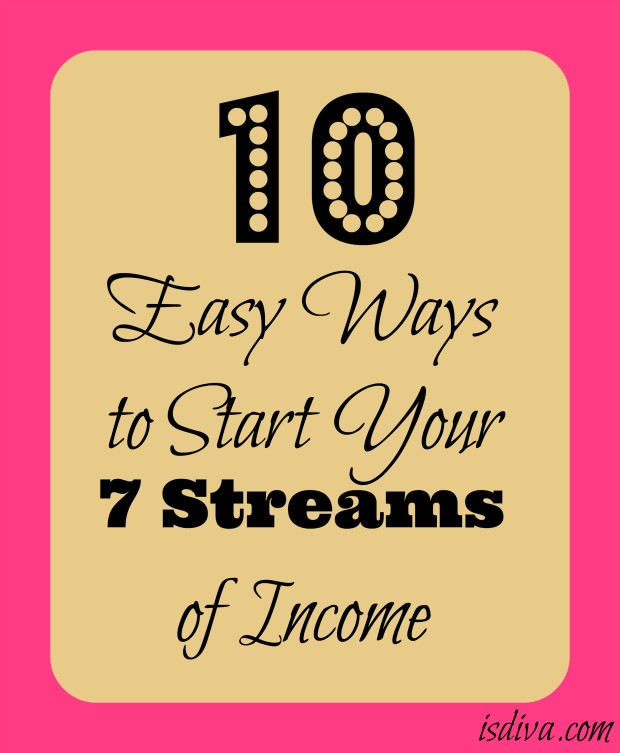 It may seem hard enough having one stream of income. But there are ways to generate several streams of income without it having to be physically demanding or with large investments. Easy Ways to Start Your Seven Streams of Income