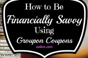 How to Be Financially Savvy Using Groupon Coupons. For those looking to be financially savvy, Groupon Coupons has savings right on their website. Check out Groupon's coupon categories for everyday savings as well.