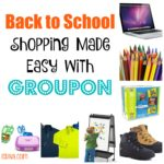 Back to School Shopping Made Easy with #Groupon #ad