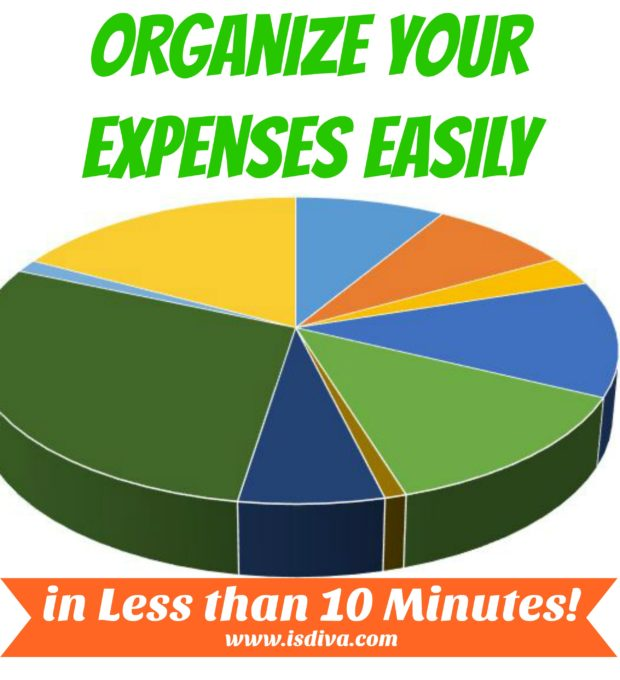 Organize Your Expenses Easily in Less than 10 Minutes! Do you want to learn how to analyze your expenses? I'll show you in less than 10 minutes how to create a pivot table and use this information to see where your hard-earned dollars are going.
