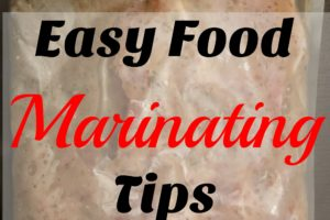 Easy food marinating tips. Are you looking for an easy way to season and marinate your foods without the hassle? This is a quick and easy tip on how to reuse a typical bag to do so.