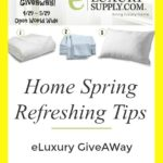 Home Spring Refreshing Tips + Giveaway #ad