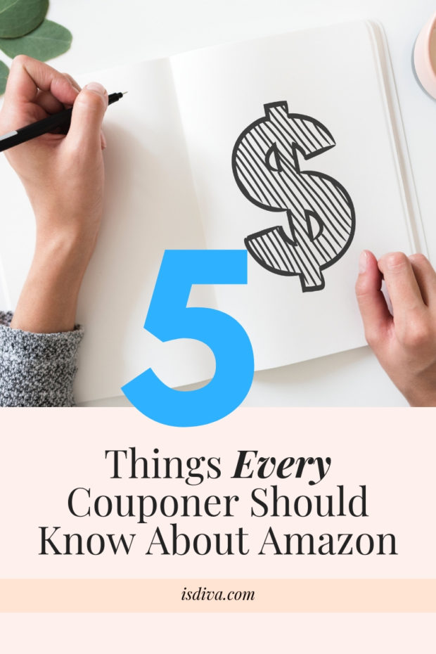 5 Things Every Couponer Should Know About Amazon Independent Smart Diva